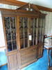Ethan Allen Georgian Court 2-Pc. Breakfront China Cabinet