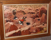 Doug Wildey (1922-1994) Oil/board Scene Of Cowboy Drinking From Desert Spring