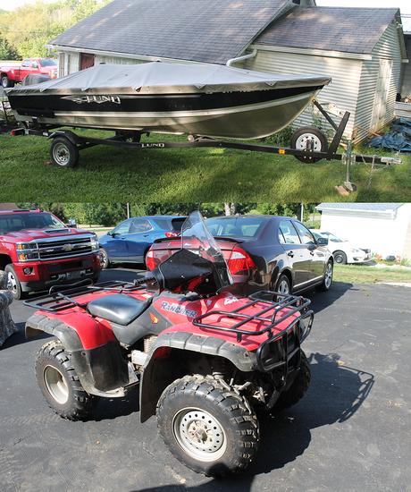 Boat - ATV - Mowers - Fishing Gear - Decor - 14803