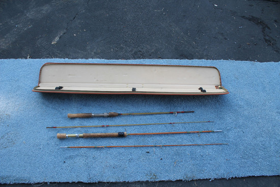 2 Fly Rods W/ Case, 1 Is H. Stork