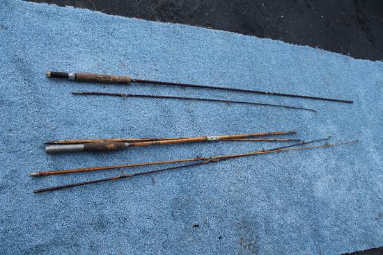 2 Fly Rods W/ Asst. Tips