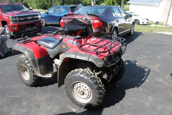 2000 Honda Rancher TRX 350 ATV, 4x4