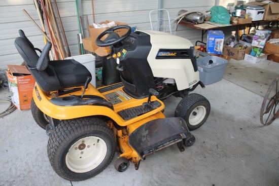 """Cub Cadet SLTX-1054 V Twin, Hydrostatic Lawn Mower W/ 54"""" Deck, 297 Hours"""