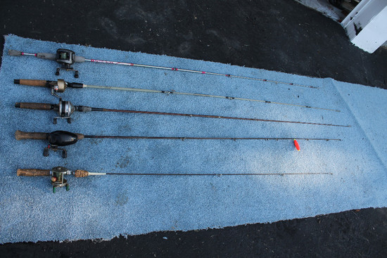 5 Fishing Poles