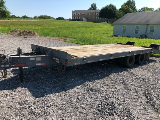 1989 Interstate 10-ton Trailer 19' & 5' Beaver