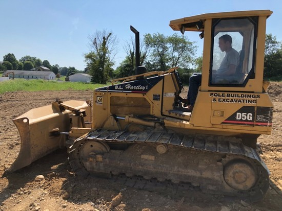 2002 CAT D5G Dozer XL, One Owner, 3,925 hrs., W/ Quick Lube, Rebuilt Alternator