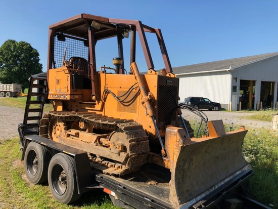 1993 Case 450C Dozer, One Owner, With Winch 135' Cable, New Hydraulic Pump