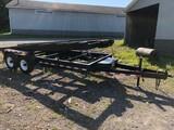 Hydraulic Tilt-Deck Car Hauler W/ Winch, 6,000 GVW, 20 ft.