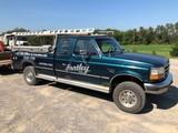 1996 Ford F250 Diesel 4x4 XLT 9,000 Lb. Winch, Automatic, Extended Cab, 157K Mi.