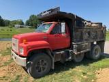 1991 GMC Dump Truck, 13-Ton CAT Diesel, 99,214 Mi., W/ Drop Axle