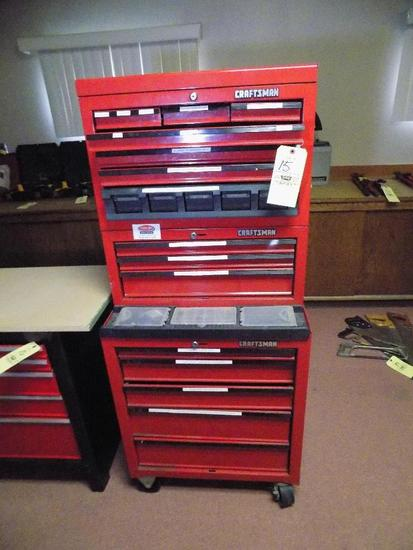 "Craftsman Stack Toolbox (3) Section 61"" Tall"