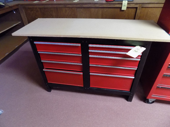 "Workbench with Drawers 54"" Wide"