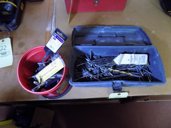 (2) Containers of Drill Bits