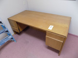 Pair of Wood Desks 60