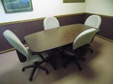 Conference Table with (4) Chairs