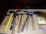 Group of hammers and mallets