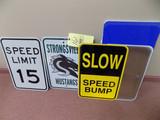 Signs, blanks