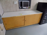 Two door work bench 6ft 8
