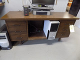 Wood desk 5ft x 20