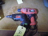 Black and Decker Skil Saw Drills