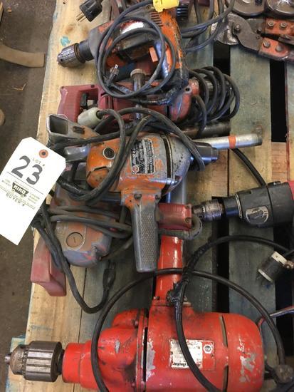 7 Drills & Bit Sharpener