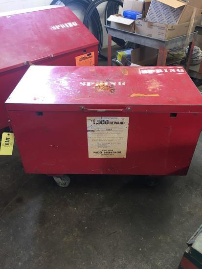 Red Job Box