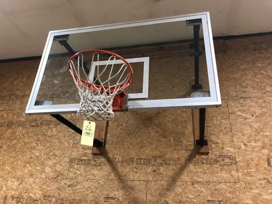 Sure Shot Wall Mount Basketball Hoop