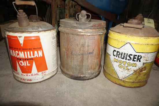 Macmillen, I.S.O., Cruiser Oil Cans