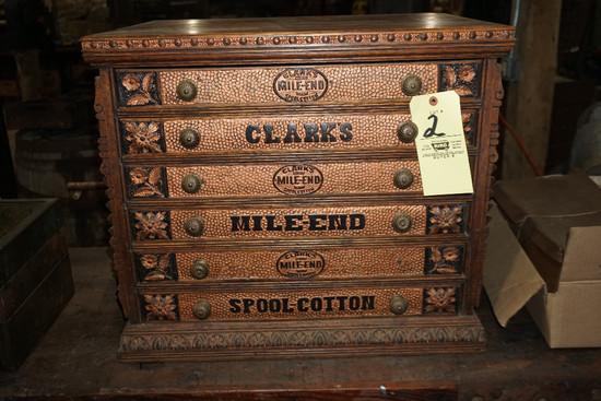 Clark's Mile-End Spool Cabinet