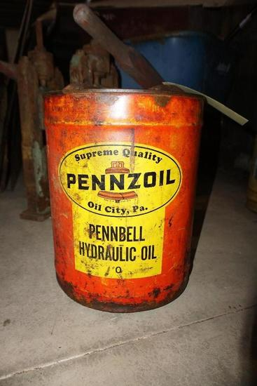 Pennzoil Hydrolic Oil Can