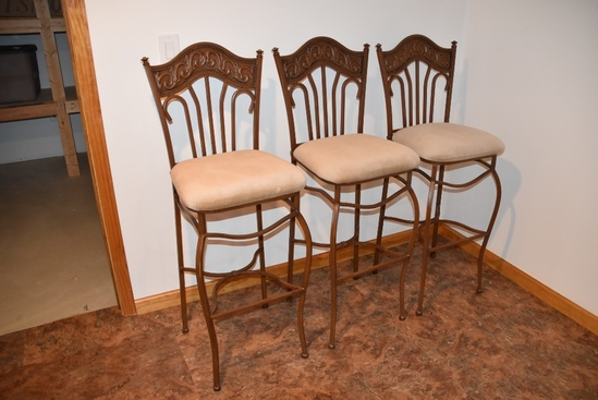 3 Matching Bar Stools