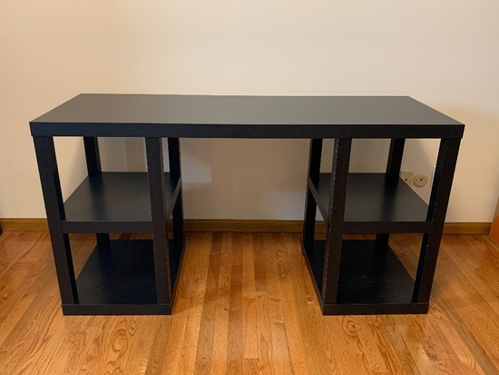 2-Pc. Desk, Contemporary Style - Office Supplies