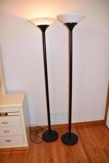 Floor Lamps and Table Lamp