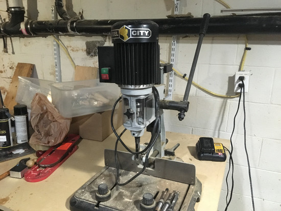 Steel City Mortiser With 4 Bits