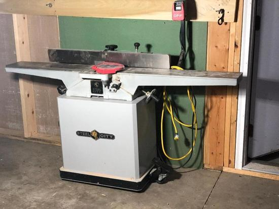 "Steel City 6""x 6' Power Jointer Mod. 40615"