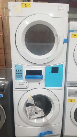 Whirlpool Commercial Duty Electric Washer Dryer Combo Model #CET9100GQ
