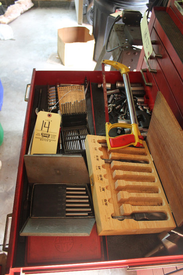 Contents Of Drawer Including Snap-On Torx, MAC Impact Driver, Assort. Sockets
