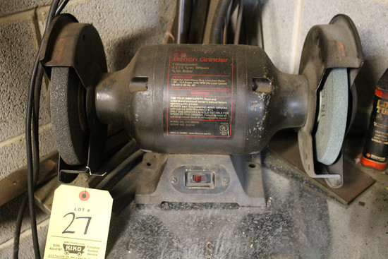 Craftsman Double-Shaft Grinder And Assorted Metal