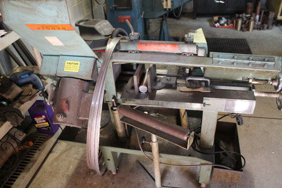 WF Wells Bandsaw W/ Roller Stand
