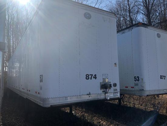 2006 Great Dane 53' T/A aluminum dry van trailer