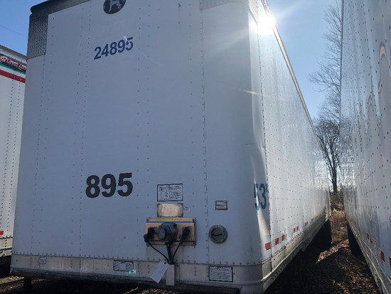 2007 Great Dane 53' T/A aluminum dry van trailer
