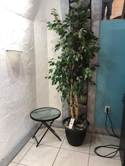Artificial Tree and Folding stand