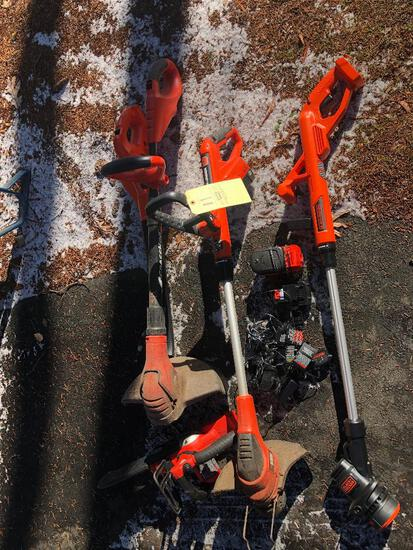 Black and Decker Electric Lawn Tools