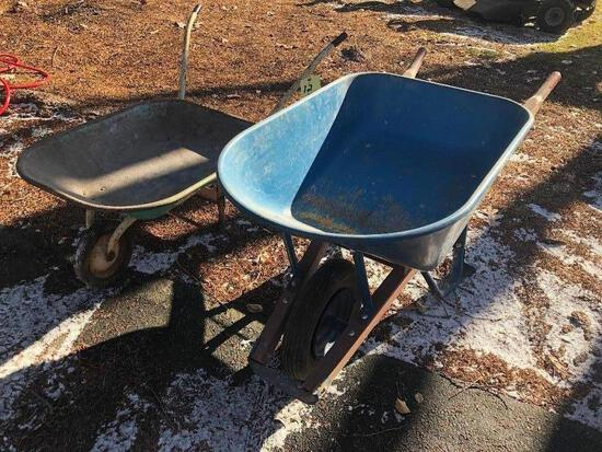 (2) Wheelbarrows