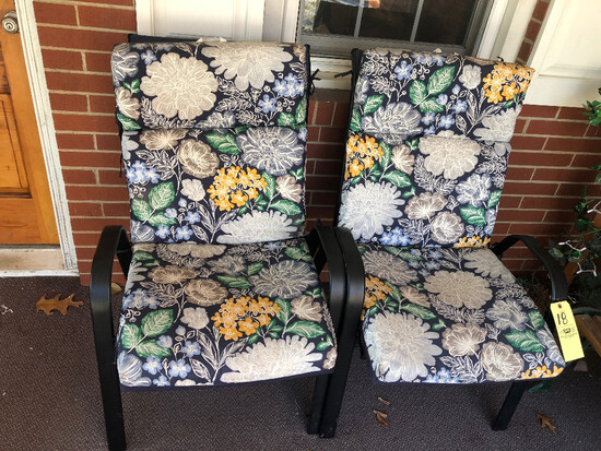 (2) Patio Chairs