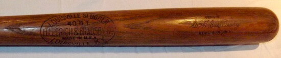 "WM. H. ""BILL"" TERRY H&B LOUISVILLE SLUGGER 40BT, GENUINE SIGNATURE MODEL"