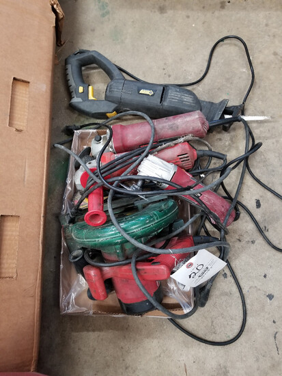 Lot of power hand tools