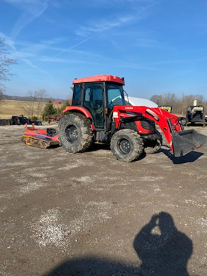 McCormick X10.55M MFWD Loader tractor, c/h/a, new loader bucket, 3,066 hours, one owner