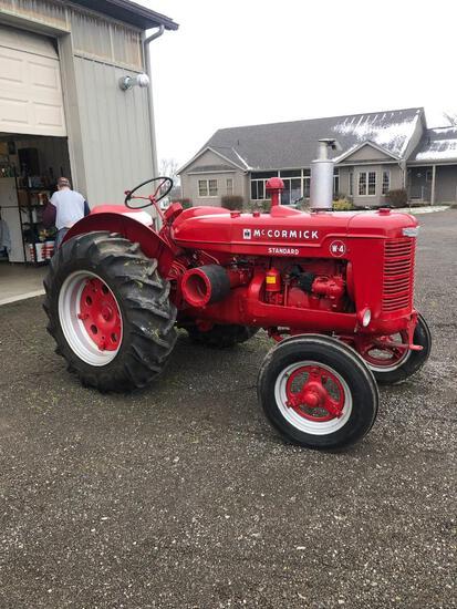 IH W-4 Tractor, restored, Ser #11211