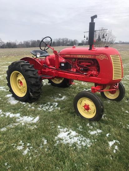 Cockshutt 20 Tractor, restored, new tires